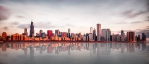 Sunrise at Chicago by 1x
