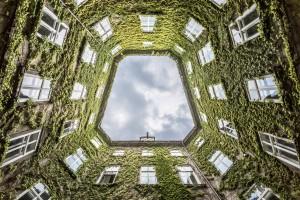 Vienna courtyard by 1x