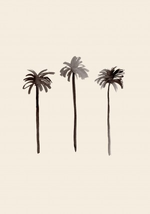 Palm Trees Ink by 1x