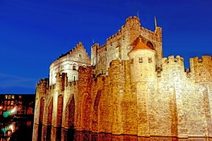 Castle of the Counts Belgium by 1North
