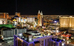 Las Vegas at Night by 1North