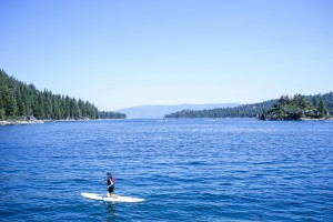 Paddle Board the Lake by 1North