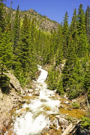 Rocky Mountain Rapids and Waterfalls 2 of 8 by 1North