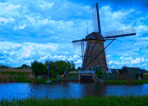 Windmill After the Storm by 1North