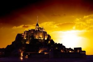 Majestic Mount Saint Michael by 1North