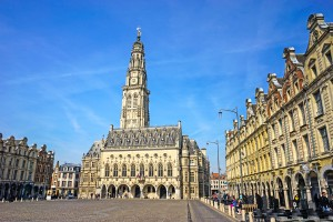 Heroes Square Arras France by 24