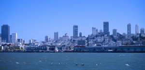 Blue Skies over San Francisco  by 24