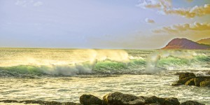 Spring Surge After the Storm Panorama by 24