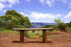 Seating for Two Waimea Canyon Area of the Island of Kauai by 360 Studios