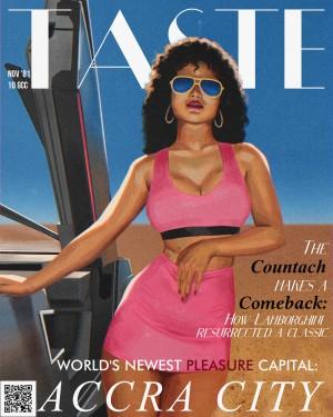 Taste November 81 Issue by 7th Artist
