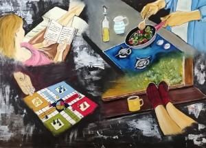 Too busy  isamyth by Abha Lakhotia Bangard
