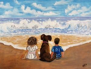 kids_onbeach by Abha Lakhotia Bangard