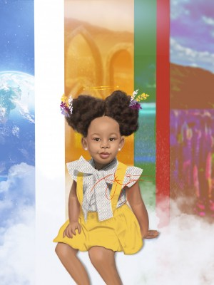 child by Afrocentric Painter