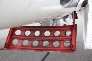WWII Airplane Part Rudder by Wallshazam