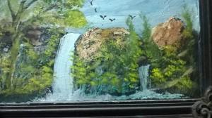 water fall by Ahmad ALMASRI