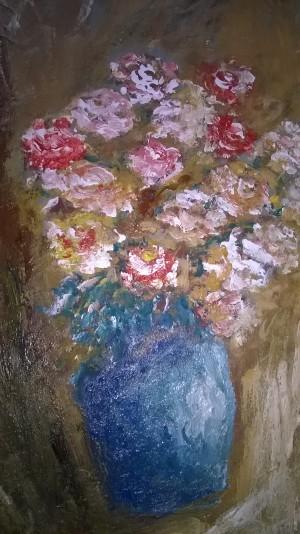 flowers vase by Ahmad ALMASRI