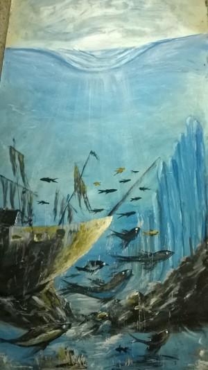 under water by Ahmad ALMASRI