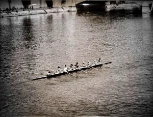 Paris Rowing 1975   1 by Alain Harrus