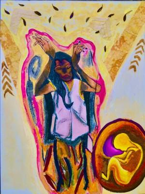 Rachel Canvas 2 by Alain Harrus