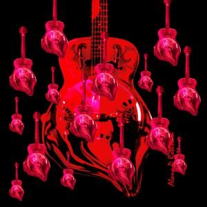 PinkRainBlackVelvet by Alana Rothstein