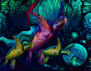 Turtles en Saison 5 by Aldane Wynter