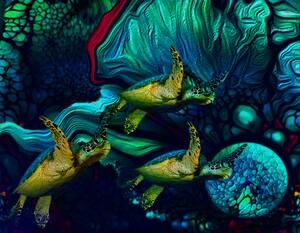 Turtles en Saison 7 by Aldane Wynter