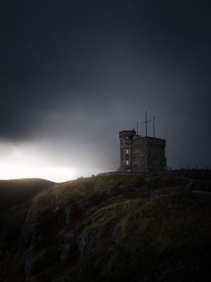 Cabot Tower sunset by Alex Bihlo