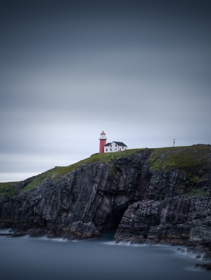Ferryland lighthouse II by Alex Bihlo