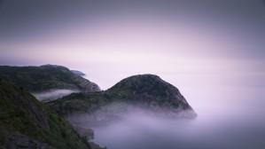 Fog over Quidi Vidi by Alex Bihlo