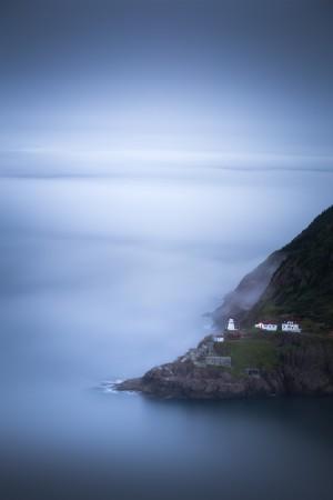 Fog over Fort Amherst by Alex Bihlo