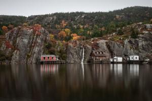 Autumn in the village II by Alex Bihlo