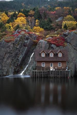 Autumn in the village by Alex Bihlo