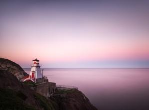 Fort Amherst sunset by Alex Bihlo