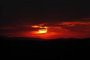 Sky on Fire by AluminousPrints