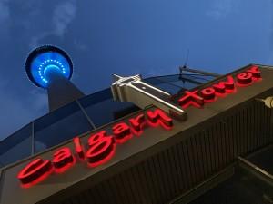 Calgary Tower by Amazing