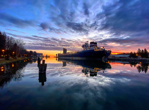morning light at the harbor by Amber Vee Photography