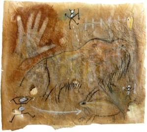 Mano con mammut by Andrea Benetti