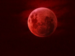 One Red Moon by Arizona Photos by Jym