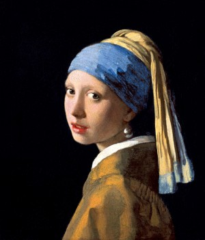 Girl With the Pearl Earring PRINT by ArtbyArt