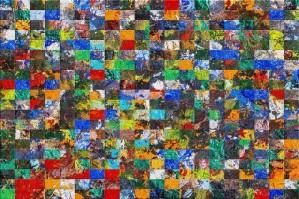 The Wall of Random Bricks by black8elise