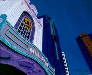 MIDLAND THEATER KCMO by Bella Visat Artist