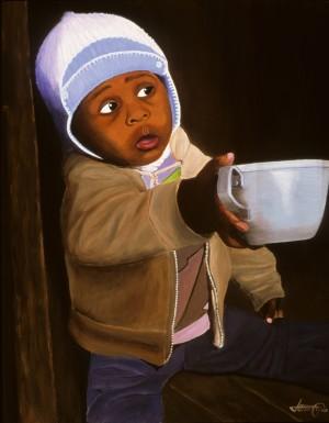 Empty Cup by Bella Visat Artist