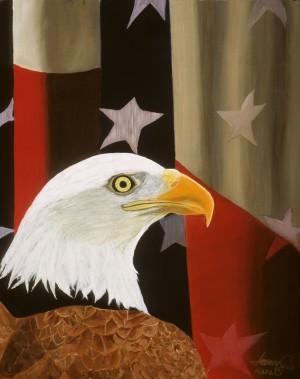 Our PROUD Bird by Bella Visat Artist