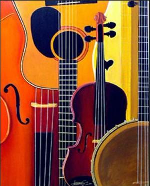 Blue Grass to Brahms by Bella Visat Artist