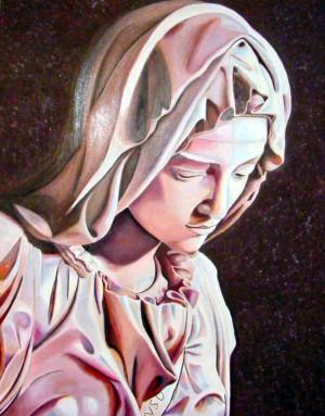 Madonna from the Pieta by Bella Visat Artist