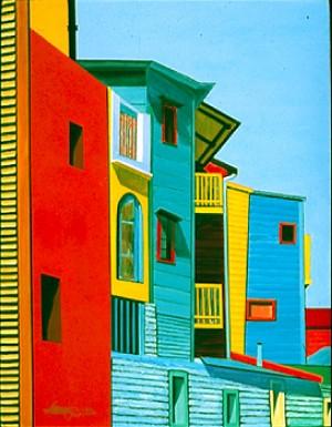 Laboca Streetscape #4 by Bella Visat Artist