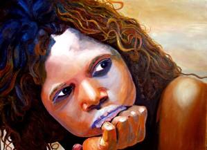 Outback Girl by Bella Visat Artist