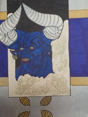 Bluedevil silver and gold by Betojimenez
