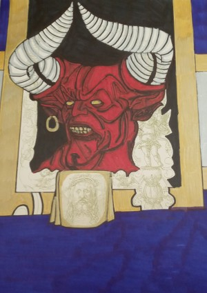 The devil silver and gold by Betojimenez