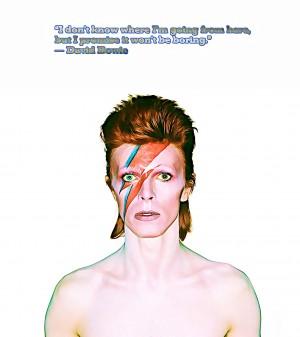 David Bowie Ziggy Stardust by Bob Frase